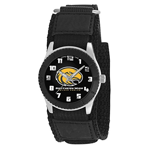 Univ of Southern Mississippi kids ladies watch black Adjustable up to 6 inches watch free (Southern Mississippi Watch)