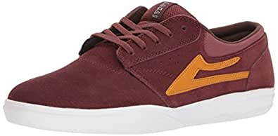 Lakai Griffin XLK Skate Shoe, Brick Suede, 5 M US