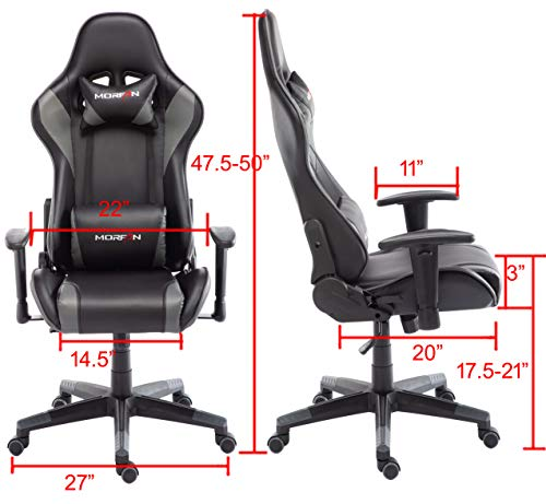 Morfan Computer Desk Chair For Game Fashion And Ergonomic