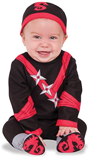 Rubie's Ninja Baby Costume, Multicolor, -