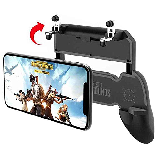 TASLAR Mobile Game PUBG Controller Fire Button Key Grip Gaming Joysticks Accessories Gamepad Compatible with 4.5 – 6.5…
