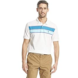 Men's Advantage Performance Short Sleeve Colorblock Polo