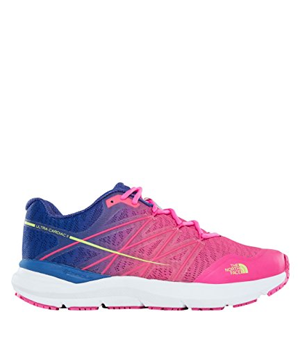 The North Face Women's W Ultra Cardiac Ii Fitness Shoes Multicolour (Sodalite Blue/Glo Pink 3tr) NwYVzrlBfZ
