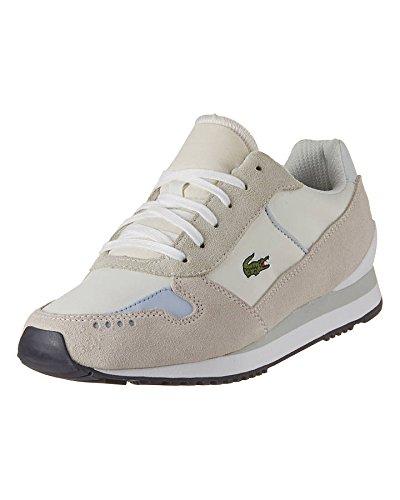 Lacoste - Zapatillas para mujer Blanco off white/light blue, color Blanco, talla 39: Amazon.es: Zapatos y complementos