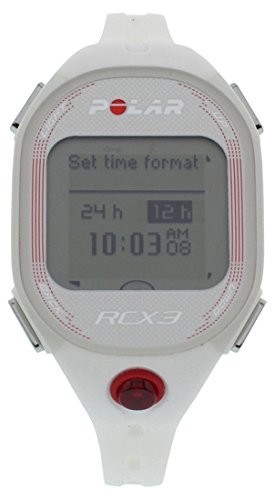 Polar RCX3F Fitness Watch with GPS White