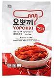 Yopokki Prepared Korean Rice Cake Instant Packet (1 Pack, Hot & Spicy)