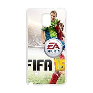 Samsung Galaxy Note 4 Cell Phone Case White FIFA 15 15SLI_811068