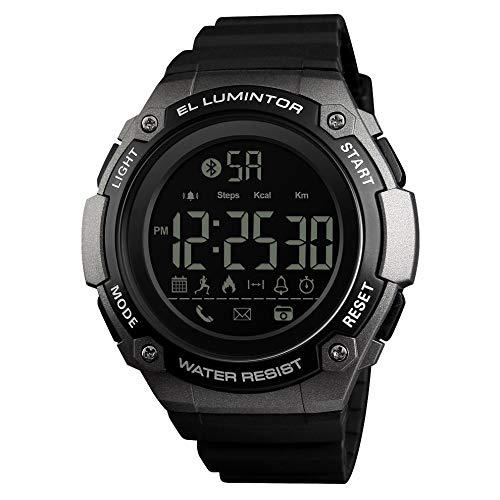 Titanium Multifunction Watch - AdaAda Fashion Hipster Pu Belt Smart Electronic Watch Multi-Function Heart Rate Titanium