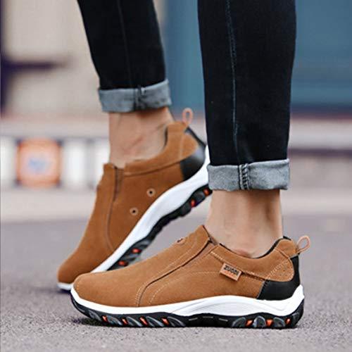 Escalade Air Anti dérapant Chaussures Sneakers Randonnée Voyage Running L'usure Mode À Sport Sole Résistant Plein Jogging Homme En nBqSXxw0E8