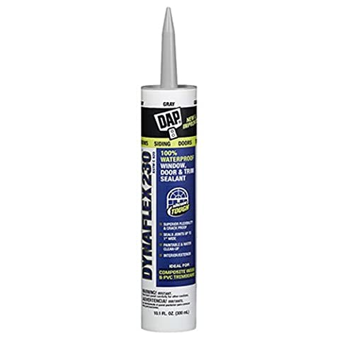 Dap 18286 Aluminum Gray Dynaflex 230 Sealant 10.1-Ounce (Caulk Grey)