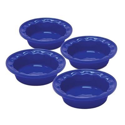 Individual Pie Dish (Set of 4) Color: Indigo Blue