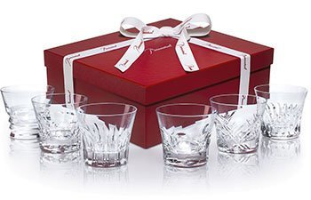 Baccarat Crystal Everyday Set Of Six Tumblers by Baccarat Crystal by Baccarat Crystal