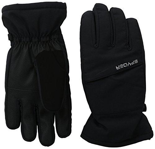 Spyder Girls Astrid-Ski Gloves, Black, (Best Spyder Ski Gloves)