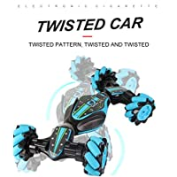 CYCTECH Stunt Remote Control Car, Christmas Gesture Sensing Twisting Vehicle & Rc Drift Car, Vehicle Light Music Drift Traverse Remote Control Dancing Side Driving Toy Cars Xmas Gift for Child