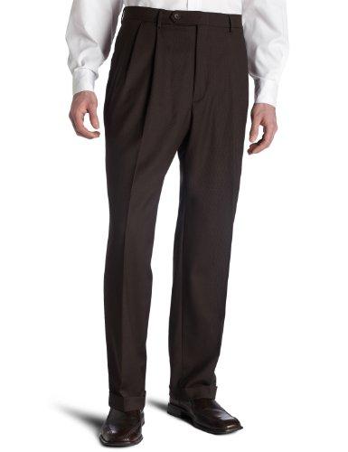 Nautica Men's Suit Separate Pant, Brown