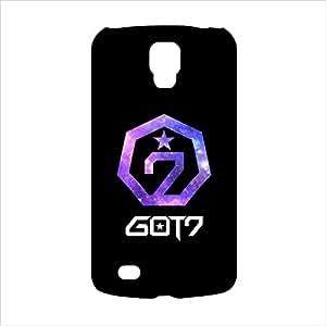 Samsung S4 Got7 Logo Printed Black Cover