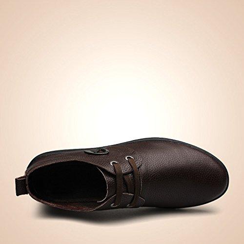 Salabobo - Zapatos Planos con Cordones hombre marrón
