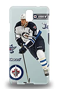 Cute Appearance Cover Tpu NHL Winnipeg Jets Andrew Ladd #16 3D PC Case For Galaxy Note 3 ( Custom Picture iPhone 6, iPhone 6 PLUS, iPhone 5, iPhone 5S, iPhone 5C, iPhone 4, iPhone 4S,Galaxy S6,Galaxy S5,Galaxy S4,Galaxy S3,Note 3,iPad Mini-Mini 2,iPad Air )