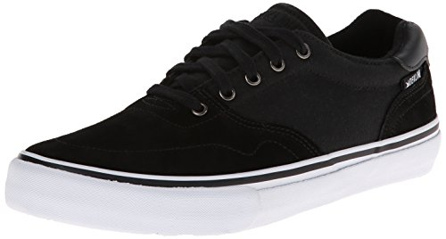 Dekline Men's Wayland Skateboard Shoe,Black/White,10 M (Dekline White Shoes)