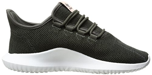 Adidas Originali Da Donna Tubular Shadow Fashion Sneakers Utility Grigio Nero / Bianco