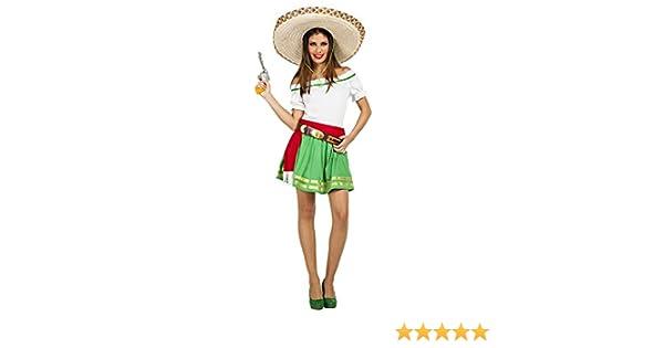 Disfraz de Mexicana Tequila para mujer: Amazon.es: Juguetes y juegos