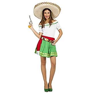 Car Gus Disfraz de Mexicana Tequila para Mujer  Amazon.es  Juguetes ... 30572bbd11f