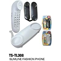 TRISONIC TS-TL308 BLACK SLIMLINE PHONE