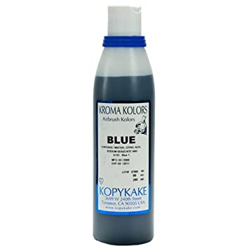 Amazon.com : Food Coloring, Blue - 1 bottle, 8 oz : Blue Food Dye ...