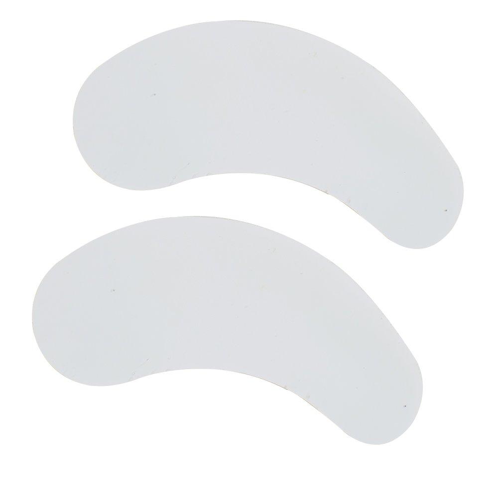 Pevor Lint Free Lash Extension Eye Gel Patches, Under Eye Pads for Eyelash Extension Eye Mask, 100 Pairs (Silver fox pear)