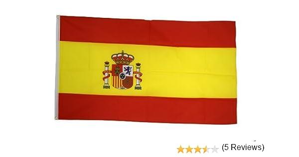 Digni Bandera España – 90 x 150 cm: Amazon.es: Jardín