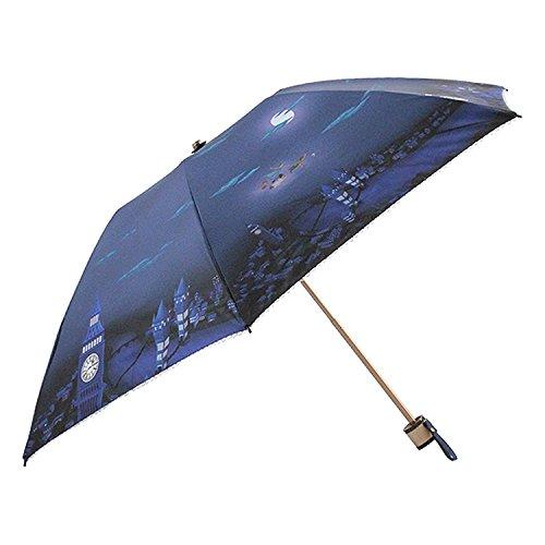 Disney(ディズニー) 日傘 ピーターパン/夜の空 50cm キャンバスパラソル 6本骨 57144 B07DG7G5GR
