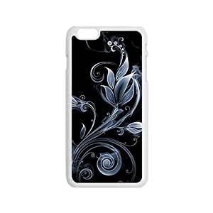 leaves cirrus black background personalized high quality cell phone case for Iphone 6 by runtopwellby Maris's Diary