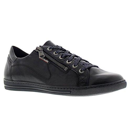 Black Mobils Shoes Leather Womens Hawai xrqIq0wfg