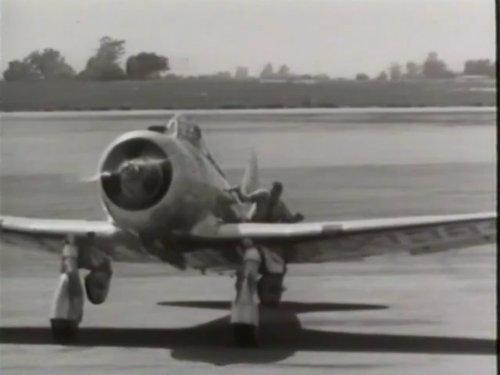 (The Republic P-47 Thunderbolt)