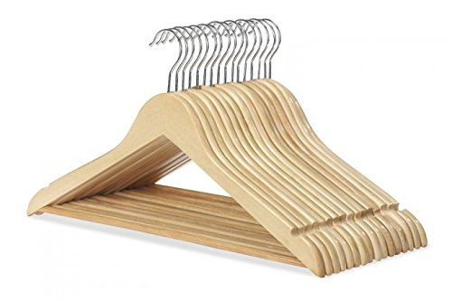 Whitmor NATURAL SUIT HANGERS 16 product image
