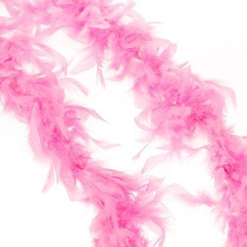Jooks T/ürkei Federn Schals Trailing Blumenstrau/ß Verpackung Stage Hochzeit Federn Federn Ideal f/ür Fasching Karneval Fastnacht oder Mottopartys Rosa