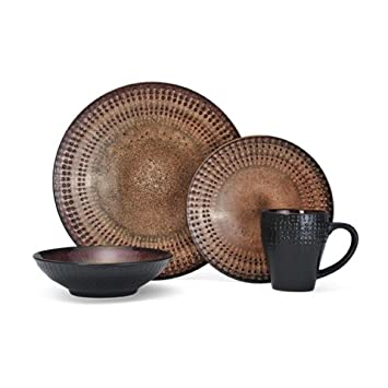 Pfaltzgraff Everyday Cambria 16 Piece Dinnerware Set, Service For 4