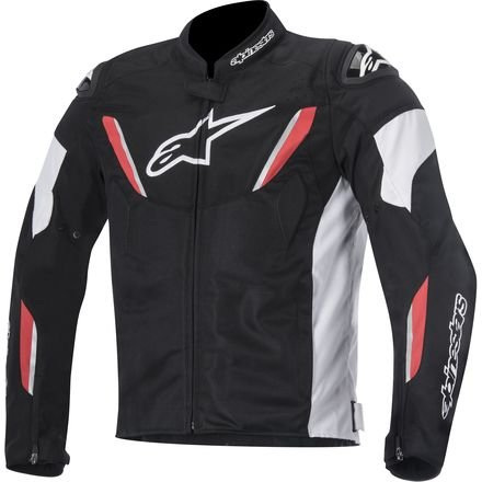 Alpinestars T-GP R Air Textile Men's Riding Jacket (Black/White/Red, XXX-Large) (Textile Air Jacket)