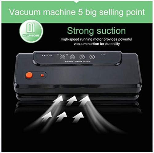 XHLLX Vide Compacteurs Commerciale Household Food Machine Vide Vide Scellant Petit Alimentaire sous Vide D'étanchéité Machine