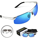 Torege Men's Sports Style Polarized Sunglasses For...