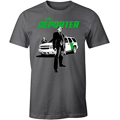 Trump the Deporter Funny Transporter Spoof Immigration Men's T Shirt