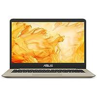 ASUS VivoBook S Thin & Light Laptop, 14 FHD, Intel Core i7-8550U, 8GB RAM, 256GB SSD, GeForce MX150, NanoEdge Display, Backlit Kbd, FP Sensor - S410UN-NS74