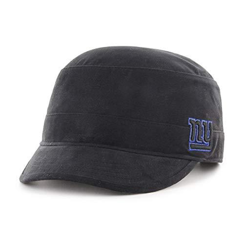 OTS NFL New York Giants Female Shipmate Cadet Military-Style Adjustable Hat, Black, ()
