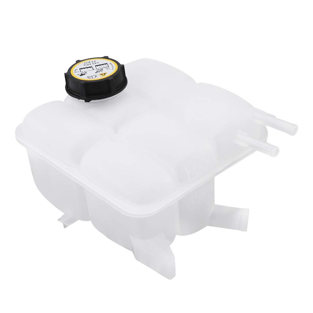 Coolant Tank with Reservoir Cap-Auto Coolant Recovery Tank Expansion Bottle Reservoir W//Cap for Mazda 3 2004-2012 LF8B-15-350B