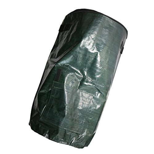 Homyl Composting Fruit Kitchen Waste Fermentation Cali Growers Bag,Scrap Collector,60L,Dark Green