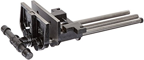 Iron Black Enamel - Yost 10047 Heavy Duty Ductile Iron Woodworker's Vise, Rapid Action, 10