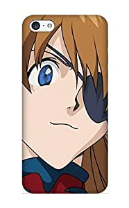 FpYdrl-785-CfIwh Anime Neon Genesis Evangelion Awesome High Quality Iphone 5c Case Skin/perfect Gift For Christmas Day