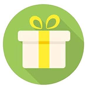 alfombrilla de ratón Caja de regalo del icono - ronda - 20cm