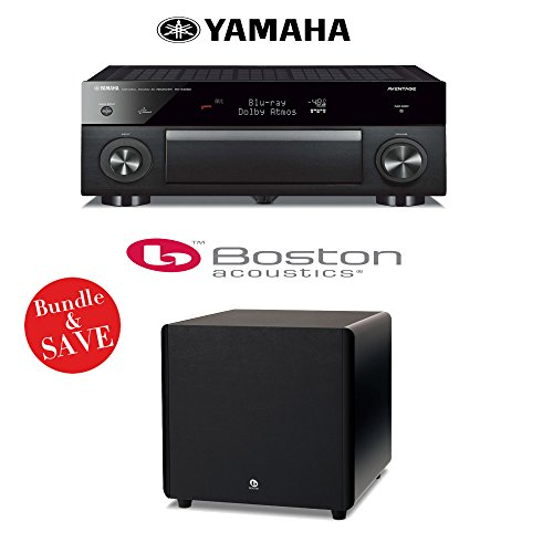 Yamaha RX A1050 7 2 Channel Acoustics Subwoofer