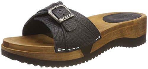 Sanita Women's Randi Flex Sandal Mules Black (Black 2) cheap price for sale LWGouTf